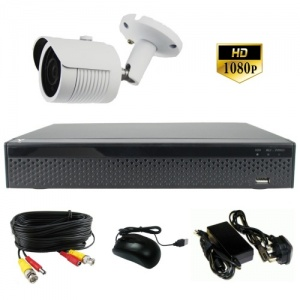 3Mp Single Camera CCTV Kit With Night Vision - 1080p
