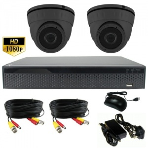 3Mp Dome CCTV System with 2 x Dome Cameras and 1Tb Dvr Recorder