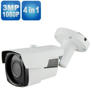 8MP Varifocal Security Camera, 60M Night Vision, 4-in-1, 4K UHD