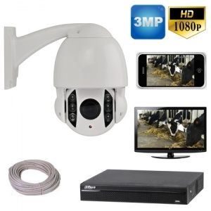 Ptz CCTV Camera System for Mobile phones