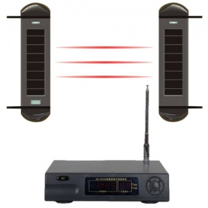 Outdoor Wireless Perimeter Beam Farm Alarm