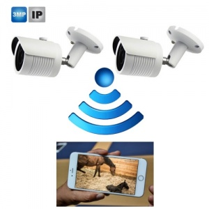 4g Gsm Foaling Camera System with 2 x Hd Cameras