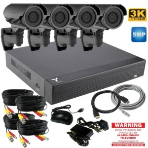 5mp Varifocal Farm CCTV Camera System