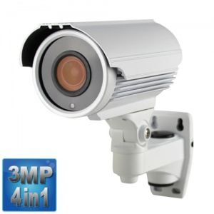 3MP Varifocal Security Camera, 60M Night Vision, 4-in-1,1080p