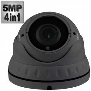 5MP Varifocal Dome CCTV Camera, 40M Night Vision, 4-in-1,1080p