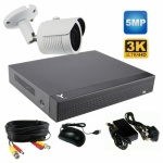 5Mp Bullet Camera CCTV Kit with Night Vision