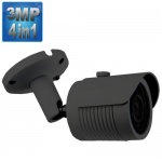 3MP CCTV Camera with 35M Night Vision, 4-in-1,1080p, Grey