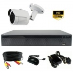 3Mp Bullet Camera CCTV Kit with Night Vision