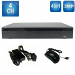 Dvr Recorder for Hd & Analogue CCTV Cameras