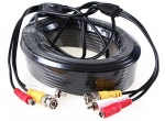 40 Meter Power Signal Audio Cable for Hd CCTV Cameras