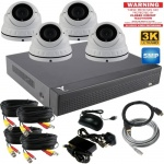 5mp Varifocal dome cctv camera system