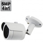 5MP CCTV Camera with 35M Night Vision white