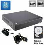 16 channel 5MP dvr recorder, 4 in 1