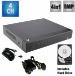 4 Channel Hd Dvr Recorder - 5Mp