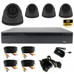 CCTV Kit with 4 x Hd Dome Cameras & 1Tb Dvr