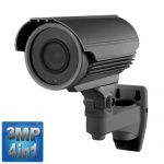 3MP Varifocal CCTV Camera, 60M Night Vision, 4-in-1, 1080p, Grey
