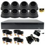 3Mp Varifocal Dome Security Camera System with 8 CCTV Cameras