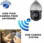 Hikvision Lambing Camera with 25 x Zoom 4g GSM Rotating Zoom