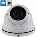 Varifocal Dome IP Camera with night vision - 3Mp
