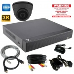 5Mp Hd CCTV Camera System with Dome Camera & Dvr