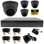 3mp Varifocal dome cctv camera system - 1080p