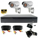 3mp Night Vision CCTV Camera system with 2 x 60m Ir Cameras
