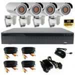 3mp Night Vision Varifocal Bullet CCTV Camera System