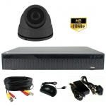 3mp Mini dome Security camera System - 1080p