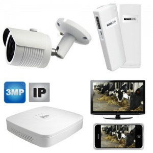 Wireless Calving Farm Ip Camera for Mobile phone, pc & Tv